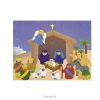 Productafbeelding Sticker scene nativity set3