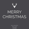 Productafbeelding Kerstkaart Merry Christmas and a blessed